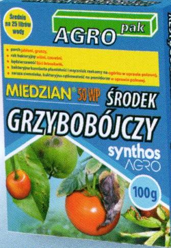 Miedzian 50 Wp 100g Agromika